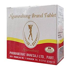 Ngamrahong Slimming Weight Control Natural Product Tablet 80 tablets