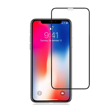 3D Curved Mobile Phone Tempered Glass Screen Protector For iPhone XS Max 6.5