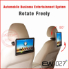 10.1inch portable car monitor wifi,3G Function,FM transmitter,Capacitive Touch Screen,USB