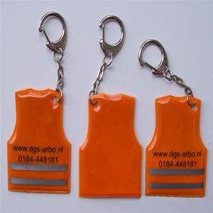 3m Vest Soft Reflective Keychain for Promotional Gift
