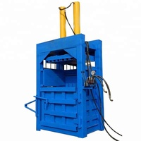 Plastic automatic scrap compactor / packer for wood shaving baling machine price
