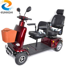 easy ride handicapped electric caddy with 2 seat carrying mobility scooter