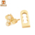 Wholesale fashion handbag accessories bag closures twist locks with pearl