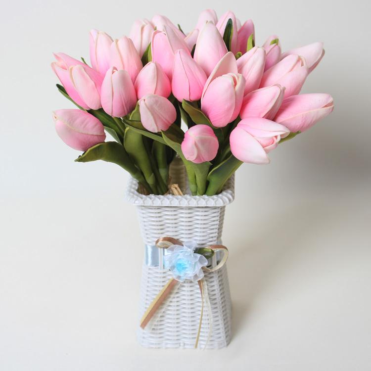 Mini Artificial Tulip,Wholesale Handmade Flower Arrangement