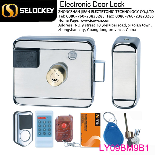 Wireless Swipe Ic Card Electronic Key Door Lock For Door Entry