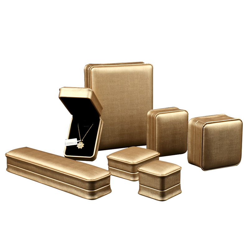 FSD High End Custom Bracelet Ring Bangle Set PU Leather Jewelry Packaging  Box In Stock