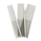 Wholesale Stainless Steel Pet Dog Hair Comb