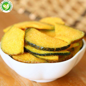 Import healthy vegetables food snack Vacuum fried pumpkin chips
