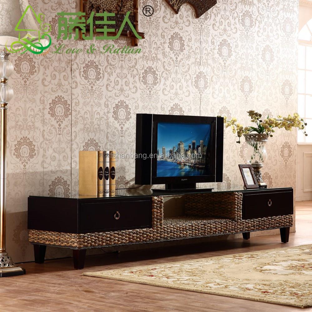 Tropical En Rotin Et En Bois Meuble Tv Buy Product On Alibaba Com # Meuble Tv Rotin