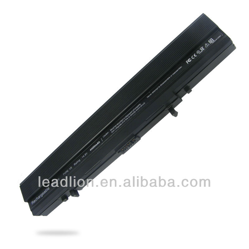 notebook battery/laptop battery for ASUS V6V V68 V6000 V6000V V6800 VX1 A42-V6 series