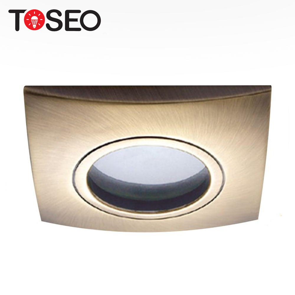 Foshan toseo lighting IP65 bathroom waterproof recessed bath room down light