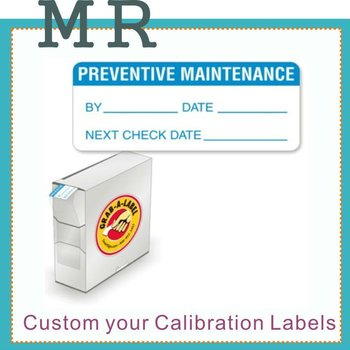 Calibration Labels And Quality Control Labels Void