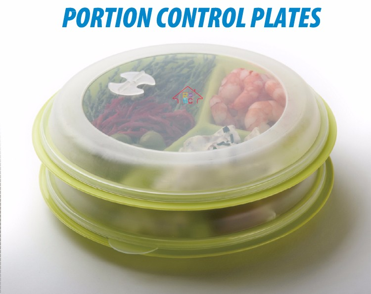 3-compartment meal prep plastic microwave portion control plates section ided containers with air vented  sc 1 st  Ningbo Yinzhou RSC Houseware Co. Ltd. - Alibaba & 3-compartment meal prep plastic microwave portion control plates ...