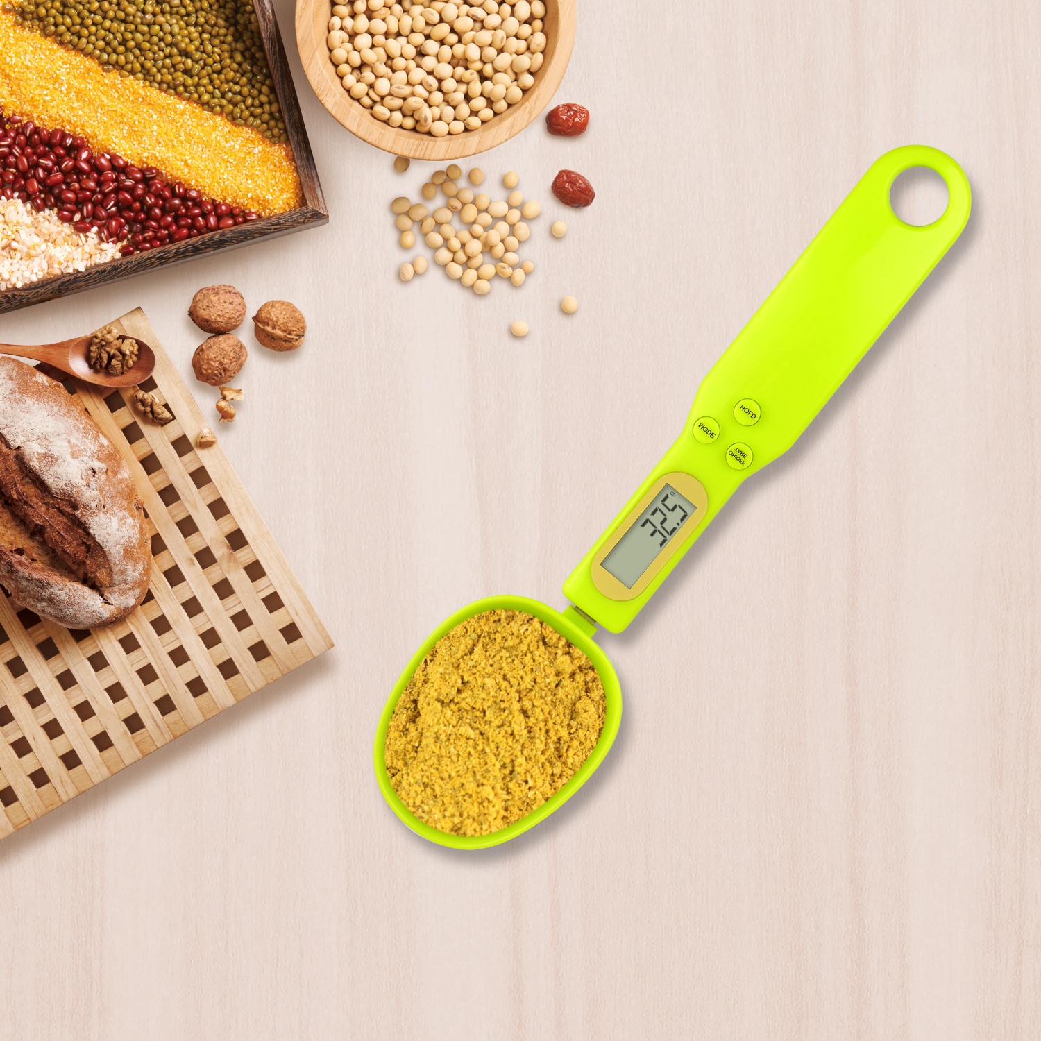 Private Label Kitchen Electronic Digital Measuring Spoon Scale