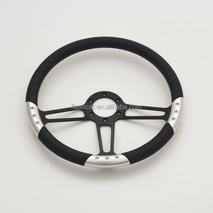 China14 inch Aluminum Momo 6 bolt Steering Wheel