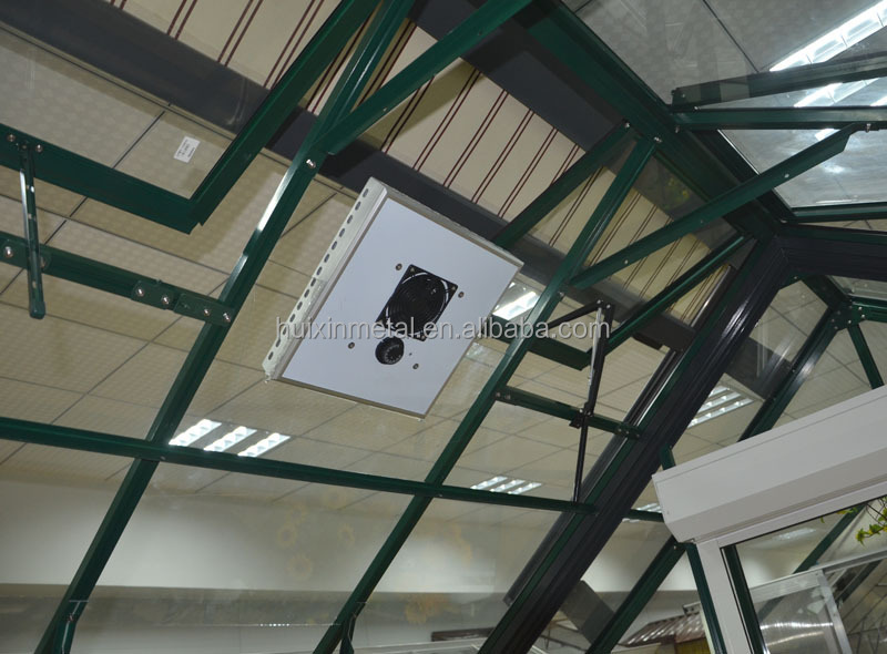 Thermostatically Controlled Ventilation Greenhouse Outdoor