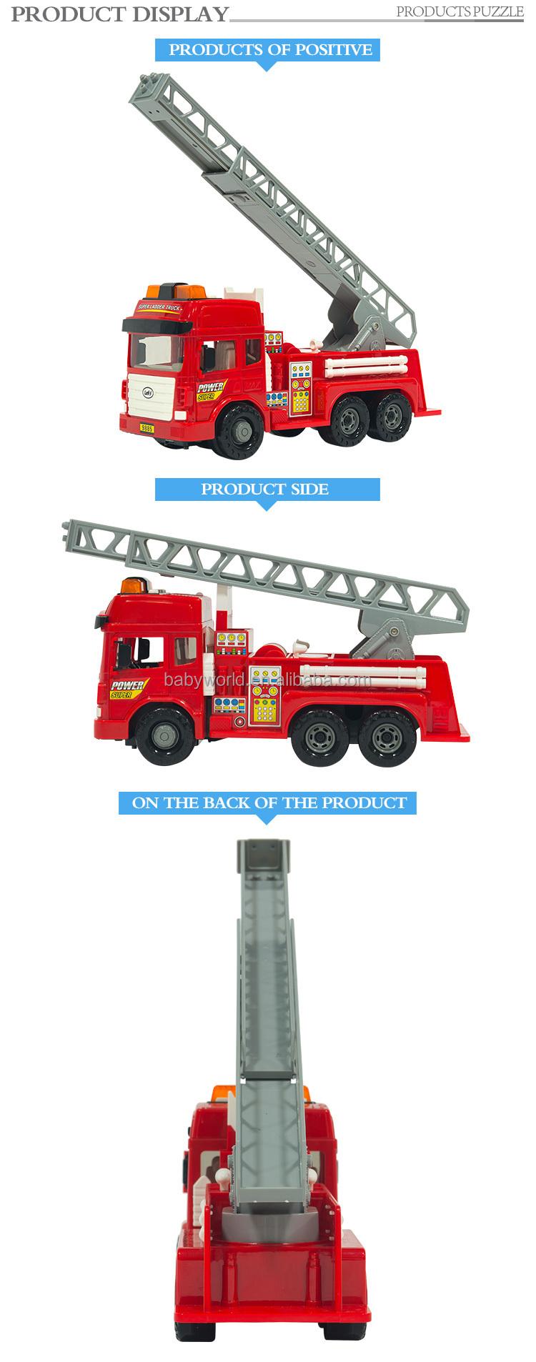 Lumière Pompier Buy Camion De Voiture Camion Frottement Son jouet jouet Pompier Jouet Et Échelle KcT513uJlF