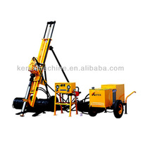 Big discount!!! 20m depth 7 bar used truck mounted water well drilling rig HQJ100