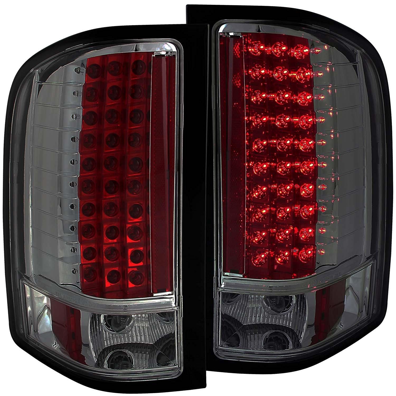TAIL LIGHT Chevrolet Silverado 1500, Chevrolet Silverado 2500 HD, Chevrolet Silverado 3500 HD CHEVY SILVERADO 2013 L.E.D SMOKE
