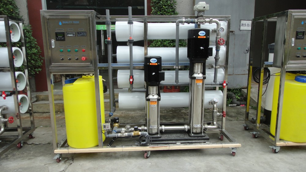 99% high salt rejection ratio 5TPH Industrial Deionized Reverse Osmosis Drinking Water Treatment System