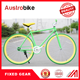 new style 60mm alloy rim colorful road bike/bicycle fixed/fixie gear bike , single gear speed design in Europe