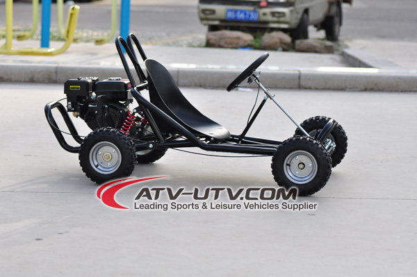 Cheap 168cc 6 5hp Gas Go Kart For Adults With Pedal Brake