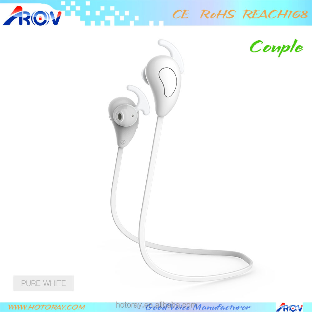 2017 hot selling itemnew hindi mp3 songs download free cable neckband stereo waterproof earphone Bluetooth for iphone 7