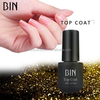 Bin 5ml Nail Supplies Long Lasting Uv Led Nail Gel Polish Gel Top Coat Buy Gel Top Coat Polish Gel Top Coat Top Coat Product On Alibaba Com