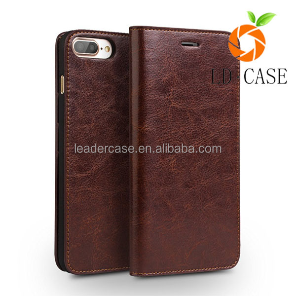 various design leather mobile phone cases for iphone 7 case leather case