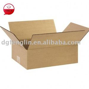 Make To Measure Corrugated Cardboard Removal Boxes