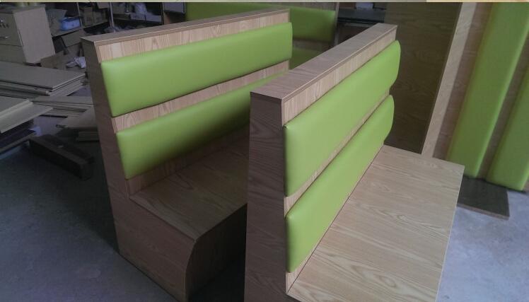 Doble Stand Restaurante/cabina Asientos/restaurante Muebles - Buy ...