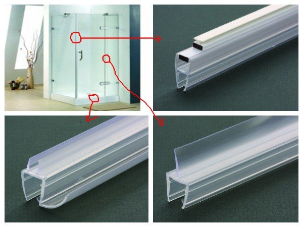 Glass Shower Door Seal Good Glass Shower Door Seal With