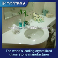 artificial nano crystal chinese glass sink