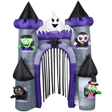 Custom-made Halloween inflatable bouncer haunted house for sale