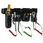 Leather tool belt set for scaffolding leather tools