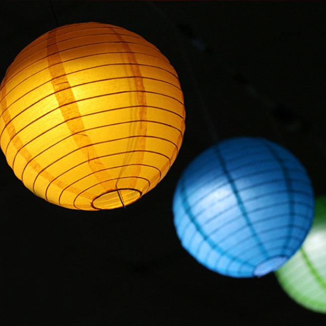 Battery Operated Light For Paper Lanternled Balloon Light For