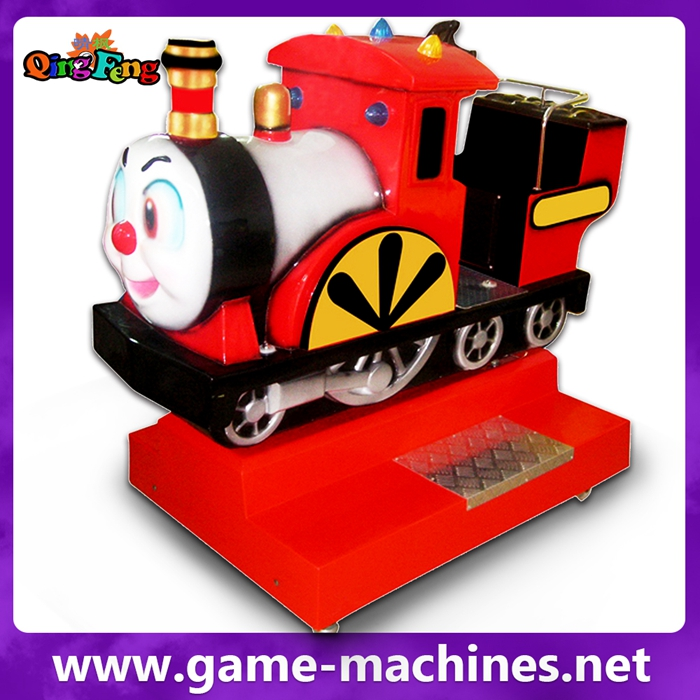 Qingfeng YA-QF034-Train-Coin operated Entertainment electronic kiddy machine
