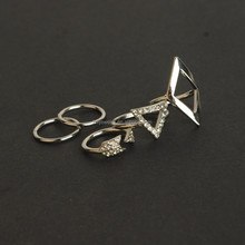 2016 Spring fashion arrow and o ring set