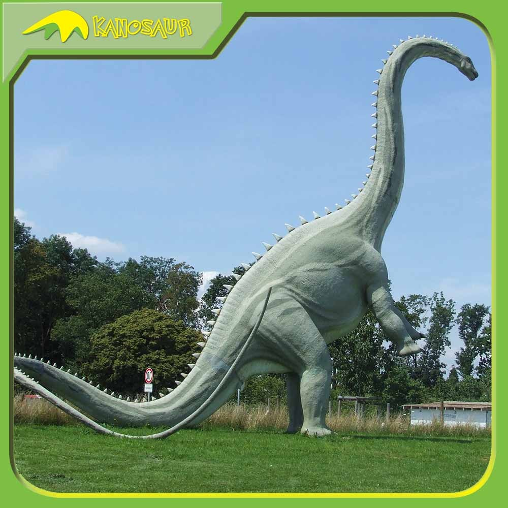 KANOSAUR8140 Outdoor Playground Equipment Attractive Amusements Parks Alive Dinoaur Sculpture For Sale
