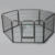 Heavy Duty portable dog fence playpen
