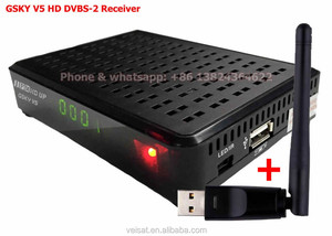 FTA Freesat Max Satellite TV Receiver DVB-S2 1080P HD TV Decoder Support