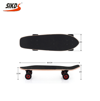 Wholesale 27inch skateboard super cruiser skateboard canadian maple skateboard deck OEM service