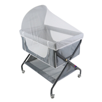 Sturdy X Frame Light Weight Compact Folding Baby Travel Cot Baby Cradle Baby Bed