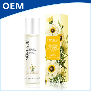 Chinese cosmetic products oem private label beauty personal skin care organic cleanser toner for face