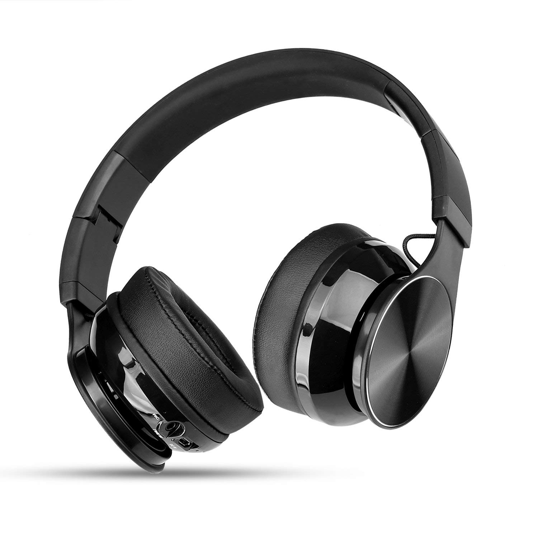 58126797c90 Get Quotations · Bluetooth Headphones, Over Ear Bluetooth Headphones, Hi-Fi  Stereo Wired and Wireless Headphones