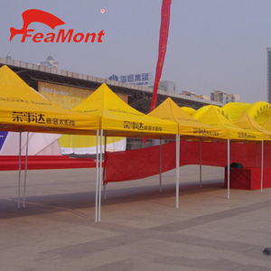 3x3m 420D Oxford Steel frame advertising folding square tent