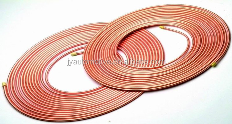 Pancake copper tube, copper tube, copper tube coil