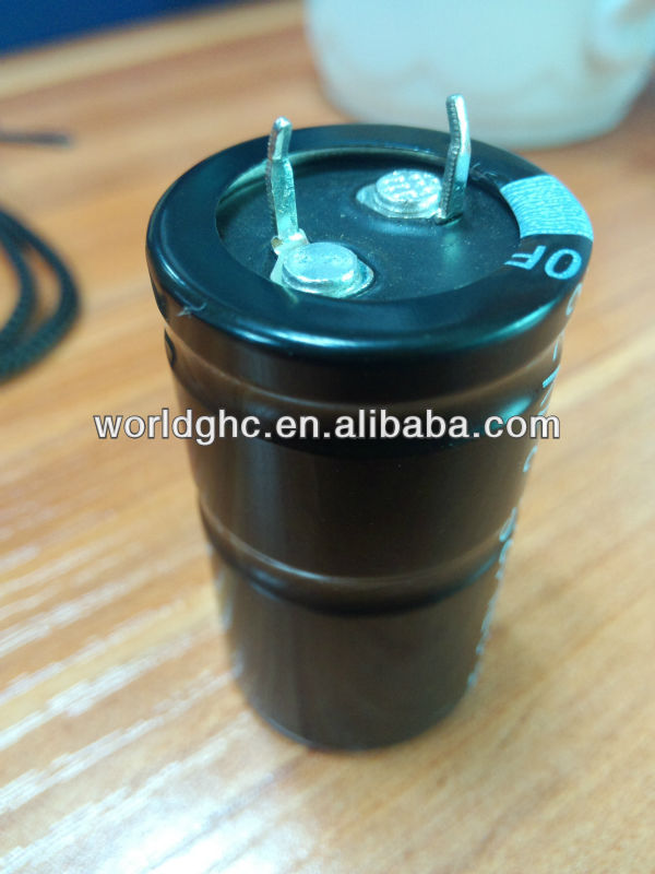 aluminum electrolytic capacitor 250uf 450v for circuit