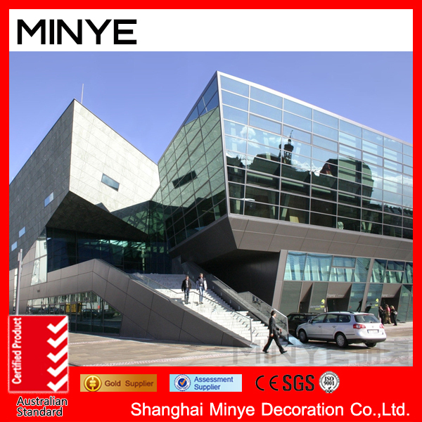 Top Quality Visible Frame Tempered Glass Aluminum Curtain Wall ...
