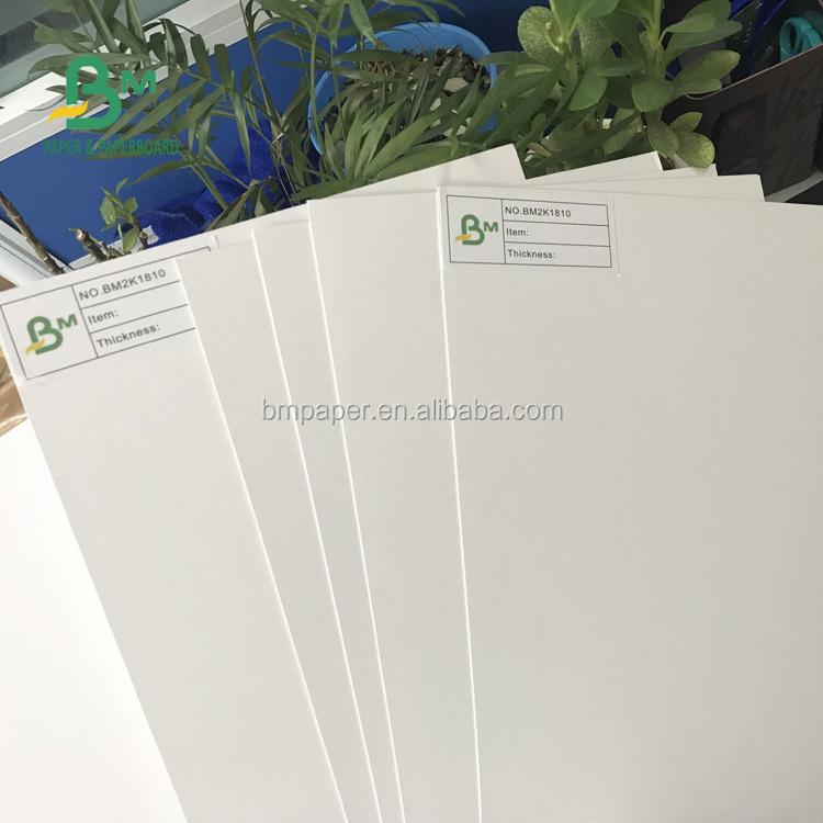 FSC Certificate 100% virgin wood pulp 250gsm 300gsm C2S Coated Art Card Paper